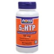 5-HTP 50 мг - 90 капсули Now За намаляване на стреса
