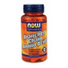 BCAA - 60 капсули Now Незаменими аминокиселини