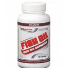 Продукт подпомагащ сърдечния апарат  Dymatize Fish Oil 120 капс
