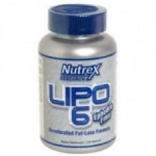 Фетбърнър Nutrex Lipo 6 - 120 капсули
