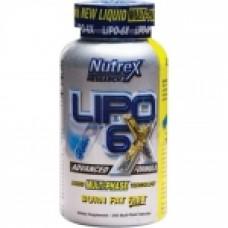 Фетбърнър Nutrex Lipo-6x - 240 капсули