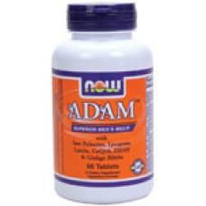 ADAM Men's Vitamins - 60 таблетки Now Мъжки спортен комплекс