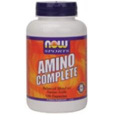 Amino Complete - 120 капсули Now - Комбинирани аминокиселини