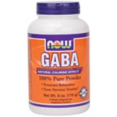 GABA Прах - 170 гр Now - Стимулира растежния хормон
