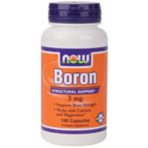 Boron 3 мг Now За здрави кости