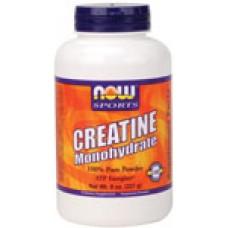 Creatine Monohydrate Прах - 227 гр. Now Креатин