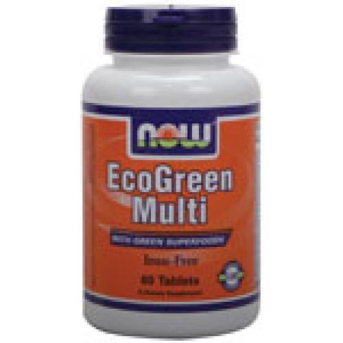EcoGreen Multi - 60 таблетки Now Витаминна формула