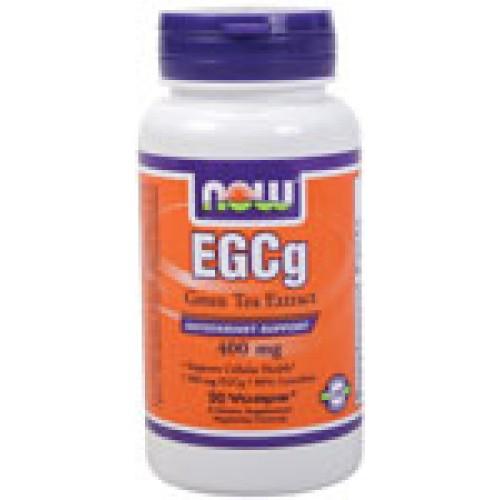 EGCG Green Tea Extract 400 мг Now Регулира теглото, антиоксидант