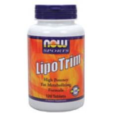 Lipo Trim - 120 таблетки Now /Липотропен фетбърнер/