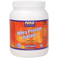Whey Protein Isolate Неовкусен - 544 гр Now Суроватъчен изолат