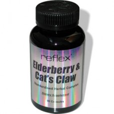 Reflex Elderberry & Cat's Claw 90 капсули
