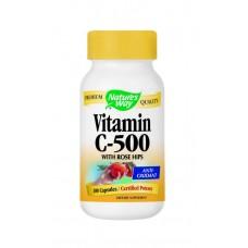 Витамин С плюс шипка 500 mg