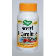 Ацетил-Л-карнитин - за мозъчна дейност 500 mg по  60 капс