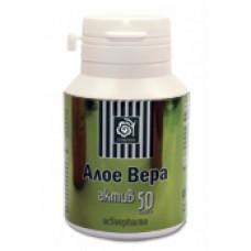 Основна грижа за здравето Activepharma Алое Вера 50 капсули
