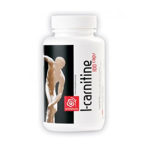 Activepharma L - Карнитин 100 капсули