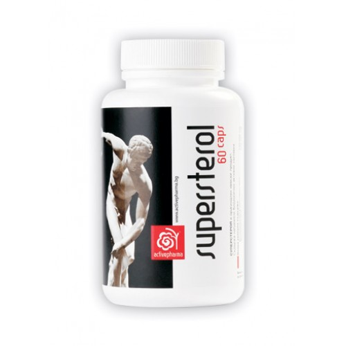 Activepharma Суперстерол 60 капсули