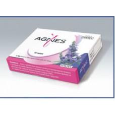 Хранителна добавка Агнес за жени, страдащи от пременструален син