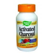 Активен въглен - за детоксикация 280 mg  по 100 капс