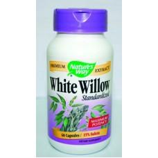 Бяла Върба - действа диуретично, пикочогонно 450 mg по 60 капс