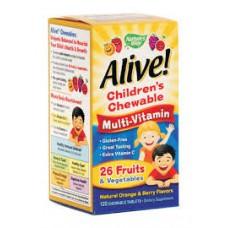Алайв дъвчащи мултивитамини за деца 1.55 гр