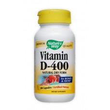 Витамин D-400 IU, за нормална костна минерализация