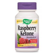 Малинови кетони, 500 mg,60 V-капсули Nature's Way