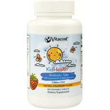 KidHealth Probiotic for kids с вкус на ягода 90 chewable tabs - Vitacost