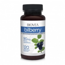 BILBERRY 90mg 120 Capsules - за здравето на очите