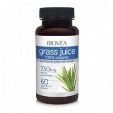 GRASS JUICE (Organic) 750mg 60 - увеличава защитните сили на организма, мощен детоксикант