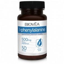 L-PHENYLALANINE 500mg 50 Tablets - важен за мозъчната дейност