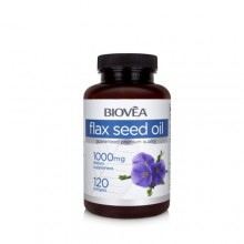 FLAX SEED OIL 1000mg - за сърдечно-съдовата и имунната система, редуцира теглото