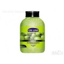 Пенообразуващи соли за вана с маслина ON LINE 600г
