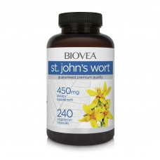 ST. JOHN'S WORT 450mg 240 капсули - подобрява психическото здраве и съня