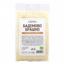 Био бадемово брашно 100 гр - Zoya - продуктът е със на годност 30.11.2020 г.
