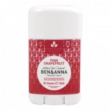 Стик дезодорант Pink Grapefruit 60 гр - Ben & Anna