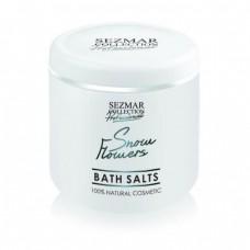 Соли за вана Снежни цвета 500 гр - Sezmar