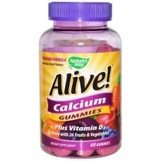 Alive! калций + витамин D3