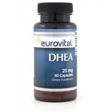 DHEA 25 mg 60 caps - против стареене, при стрес
