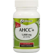 Хранителна добавка AHCC(R) with Vitamin C - 500 mg 30 Caps Vitacost