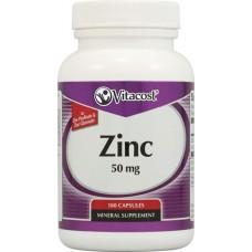 Zinc Gluconate / Picolinate 50 mg 180 Capsules Vitacost