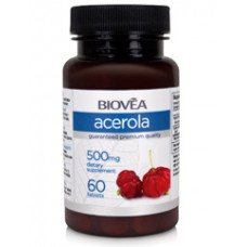 ACEROLA (Organic) 500mg 60 таблетки - можен имуностимулатор и антиоксидант