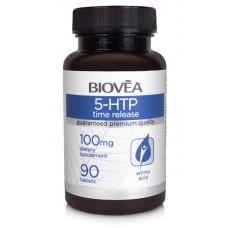 5-HTP (Time Release) 100mg 90 Tablets - успокоява и подобрява съня
