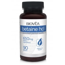BETAINE HCL 650mg 90 таблетки - за храносмилателната система