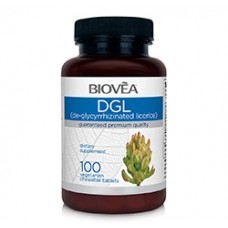 DGL (De-Glycyrrhizinated Licorice) 100 Chewable Tablets - подобрява храносмилането