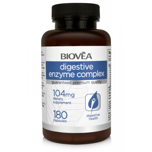 DIGESTIVE ENZYME COMPLEX 104mg 180 Capsules