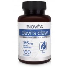 DEVIL'S CLAW 166mg 100 Capsules - действа противовъзпалително
