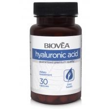 HYALURONIC ACID 40mg 30 Capsules - против стареене и бръчки, укрепва ставите и хрущяла