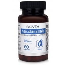 HAIR, SKIN & NAILS 60 Capsules - укрепва косата, кожата и ноктите