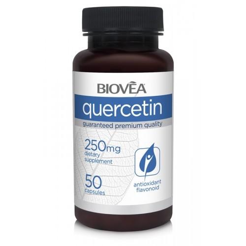 QUERCETIN 250mg 50 Capsules - антиоксидант и противовъзпалител*
