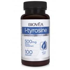 L-TYROSINE 500mg 100 Capsules - намалява умората